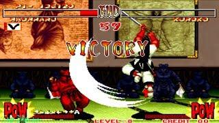 Samurai Shodown 2 - Haohmaru (Arcade) Level 8