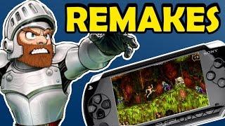 Remakes do PSP que valem muito  a pena jogar