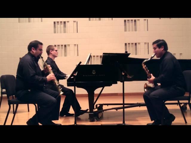Sonis Nova Trio - Piano Trio in G by Claude Debussy