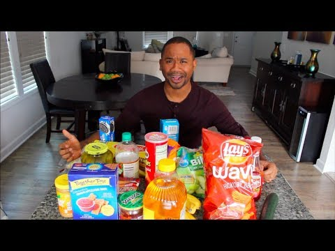 Trying 25 WEIRD Food Combos | Alonzo Lerone