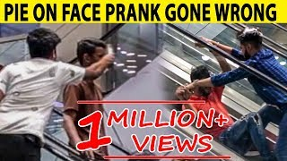 Pie Prank on Escalator in Amanah Mall - Lahori PrankStar