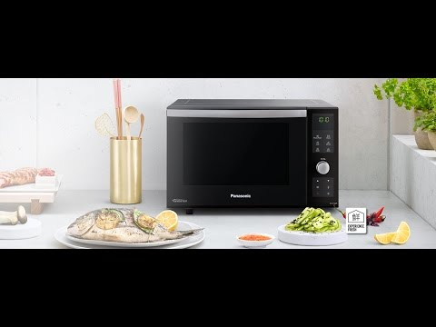 The Panasonic Nn Df386bbpq Flatbed Microwave Oven