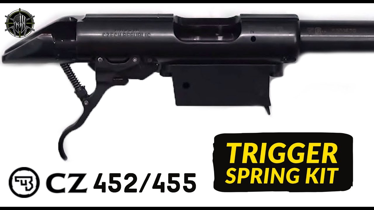 CZ 452 / 455 Trigger Spring Kit - CZ 455 Trigger Job - CZ 452 Trigger  Adjustment M*CARBO