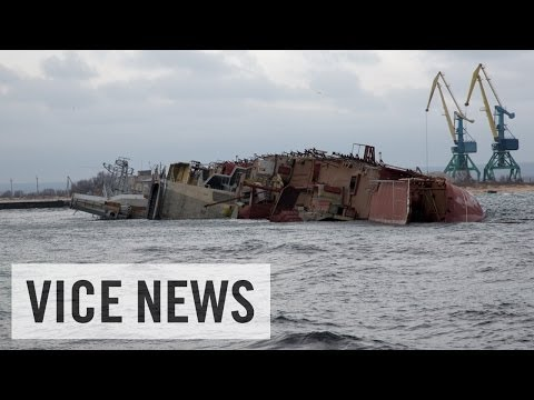 Ship Sinked to Block Port: Russian Roulette in Ukraine