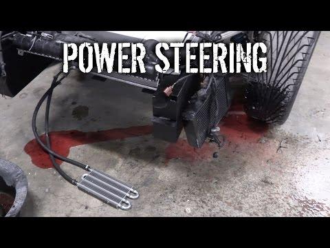 Budget Lotus Evora Pt 24 - Power Steering Massacre