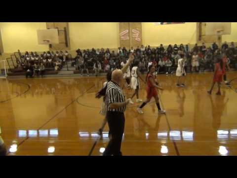 Elizabeth Middle School girls basketball vs Union Pt2