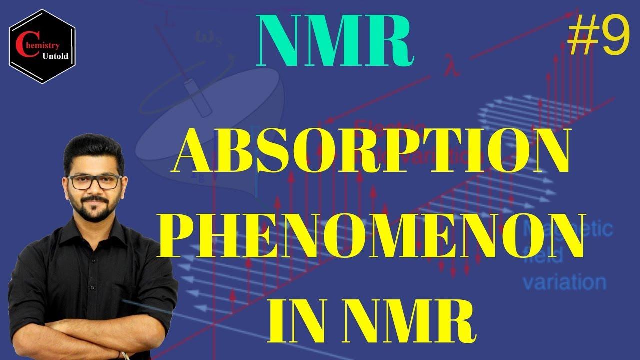 Nmr Spectroscopy In Hindi 09 Absorption Phenomenon