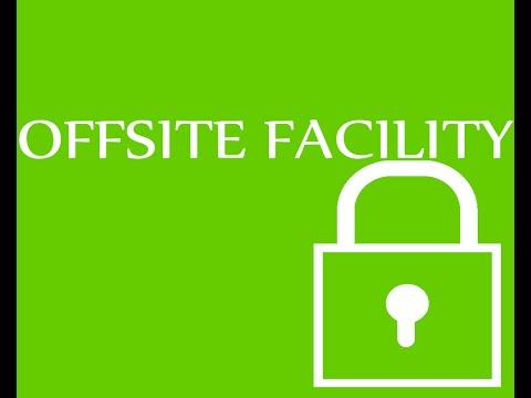 CISSP - offsite facility