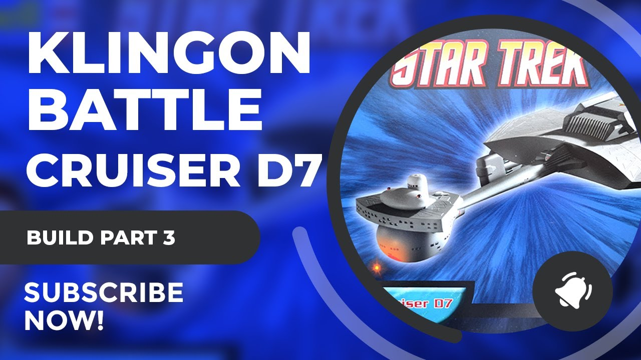 Revell Klingon Battlecruiser D7 Build Tutorial Part 3: Brake pipe mounting rod