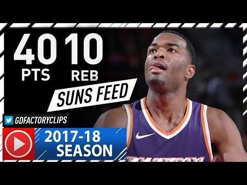TJ Warren Full Highlights vs Wizards (2017.11.01) - Career-HIGH 40 Pts, 10 Reb