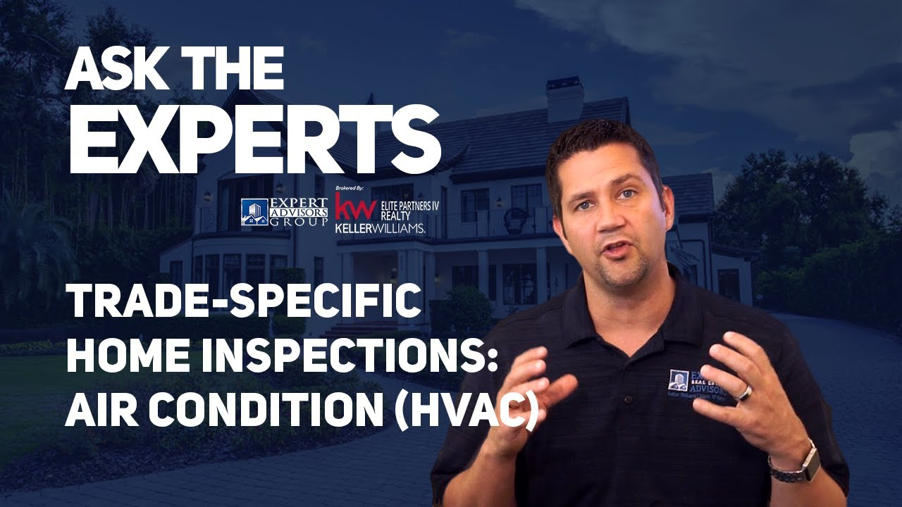 Ask the Experts: Home Inspections Trade Specific Inspections HVAC - Jon Wanberg