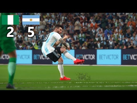 PES 2018 | NIGERIA vs ARGENTINA WORLD CUP 2018 GROUP D | ALL GOALS & HIGHLIGHTS,PES 2018 | NIGERIA vs ARGENTINA WORLD CUP 2018 GROUP D | ALL GOALS & HIGHLIGHTS download