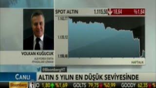 ALB Forex Yatırım Uzmanı Volkan Kuğucuk Altın Piyasa Değerlendirmesi - Bloomberg HT