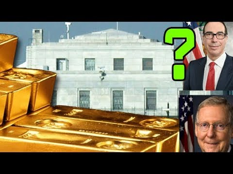 Gold To $10,000? The REAL Reason For The Visit To Fort Knox?
