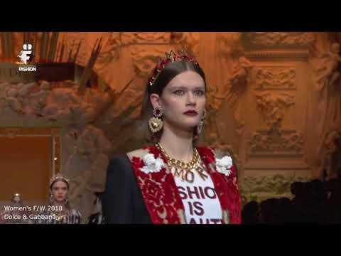 Dolce & Gabbana Woman F/W 2018