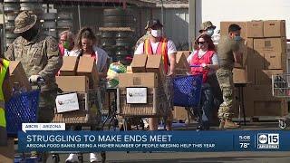Arizona food banks seeing more families needing help in 2020