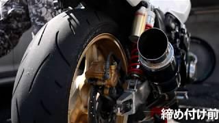 CB400SF プラグ交換