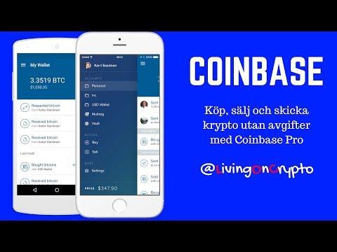 Coinbase - Köp, Sälj Och Sänd Krypto Utan Avgifter - Med Michael J Ingvarson