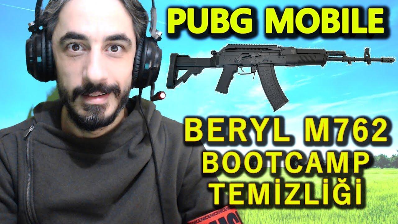 M762 Pubg: BERYL M762 İLE BOOTCAMP TEMİZLİĞİ