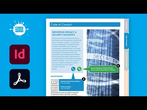 Interactive PDF Design   Pop-up Windows Part 1