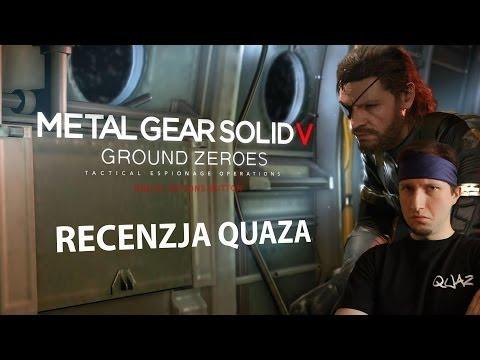 Metal Gear Solid V: Ground Zeroes - recenzja quaza
