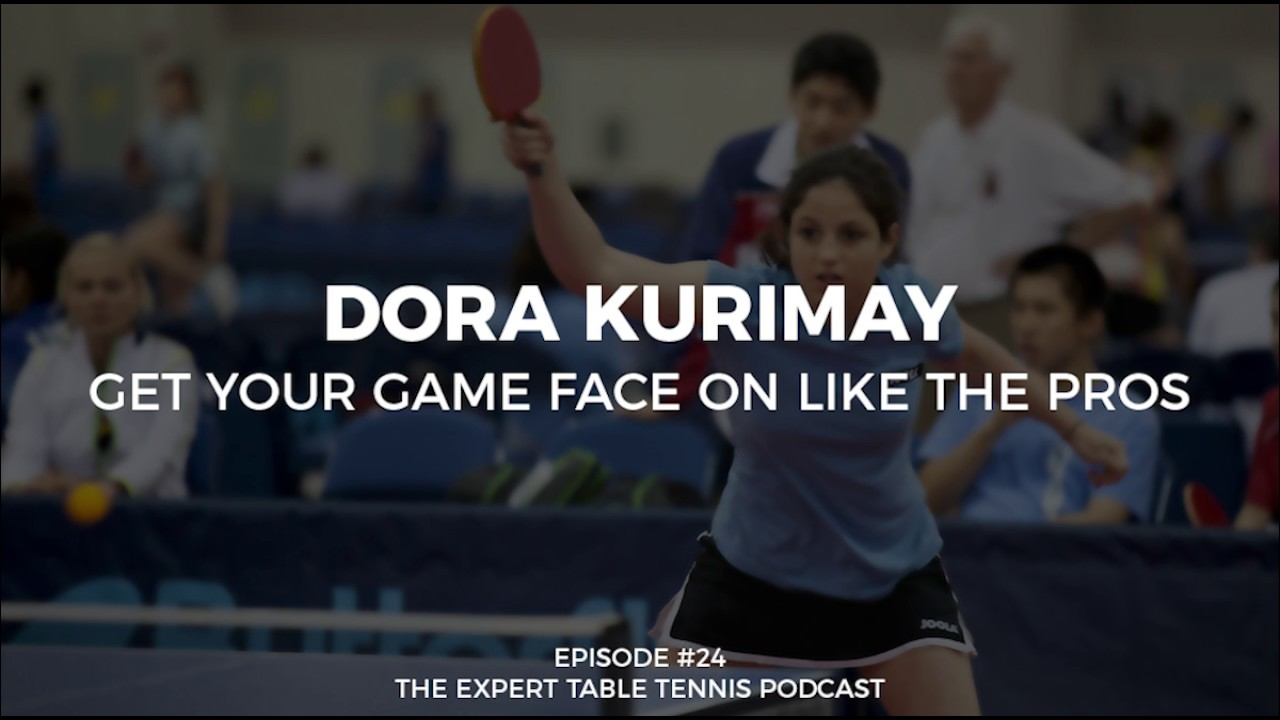 Dora kurimay get your game face on like the pros ett 24