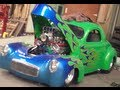 1941 Willys Coupe 540ci Blown Hemi / Shop walkaround