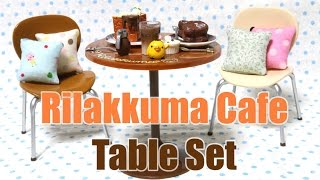 Rilakkuma Cafe Table Set