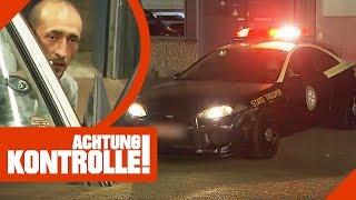 Illegale Leuchten: Aufgemotztes amerikanisches Polizeiauto gefunden | Achtung Kontrolle | Kabel Eins