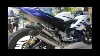 """Suara Knalpot Yamaha YZF R15 dengan Knalpot Double """"silencer"""" atau """"muffler"""" R15TIMEWA"""