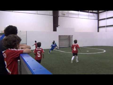 Golazo Soccer Youth League Boys( U7/U8 B)Final- Exel Academy(3)vs. Milan(1) 2/4 |
