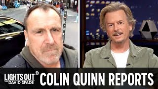 Colin Quinn's Special Report on Felicity Huffman (feat. Bella Thorne) - Lights Out with David Spade