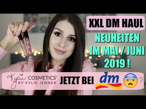 KYLIE COSMETICS jetzt bei DM 😱 XXL DM Haul Neuheiten & News Mai / Juni 2019
