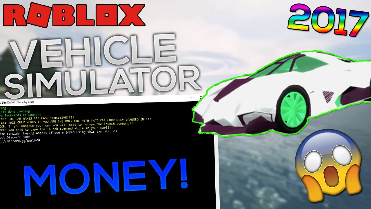 [VERY OP!] ROBLOX Exploit/Hack: VEHICLE SIMULATOR ...