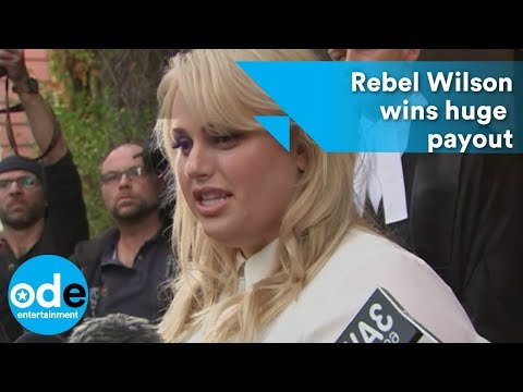 Rebel Wilson wins huge payout from media giant