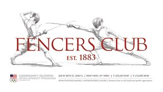 Fencers Club: Past, Present and Future Event