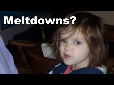 Do Our Autistic Girls Have Meltdowns?