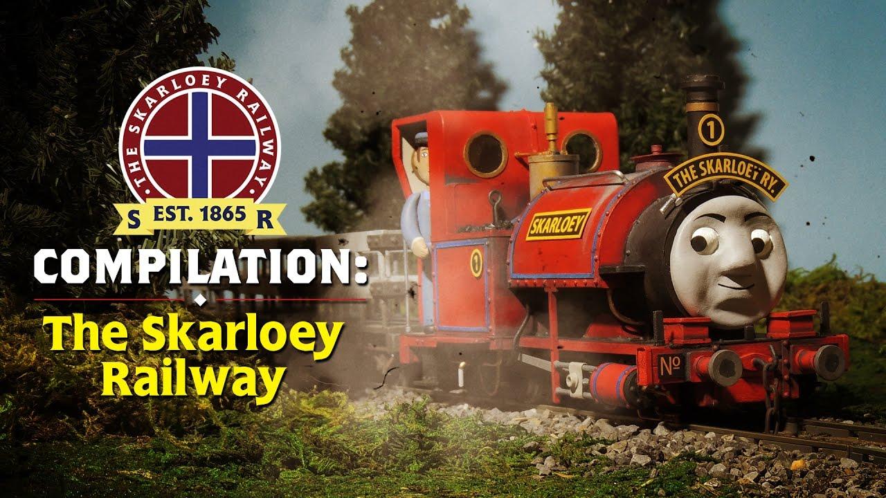 Sudrian Railway Compilation The Skarloey Railway Youtube