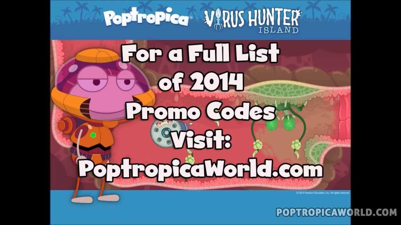 Poptropica Promo Codes 2014 - Non Expired List - YouTube