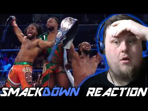 NEW DAY NEW TAG TEAM CHAMPIONS!!! : Smackdown Reaction : 21/08/2018