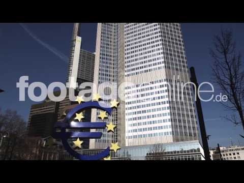 Euro Sign 03 footage 000262 HD
