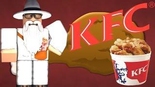 Roblox (en anglais) Tu veux du poulet KFC ?
