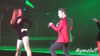 "[FANCAM] BIGBANG In México City 2015 WORLD TOUR, T.O.P Feat G-DRAGON  ""ZUTTER"""