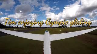 Tim enjoying Gympie gliding