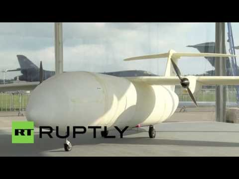 Germany: Airbus unveils Thor, their 3D Printed UAV, at Berlin air show