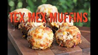 Tex Mex Muffins vom Grill