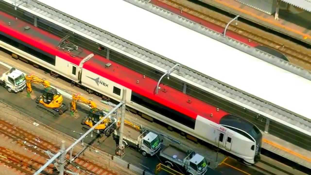 東京自由行 - 成田機場「JR成田特快Narita Express NEX 」往東京 ...