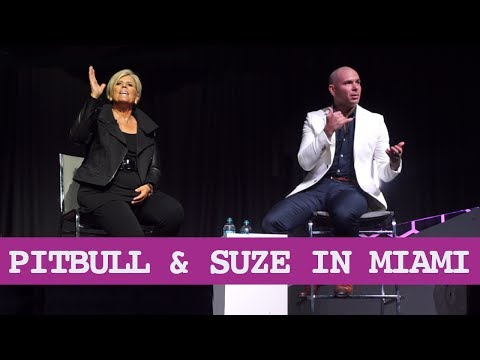 🐶 Pitbull & 👑 Suze Orman in Miami, Rags to Riches Stories 🙌🏽