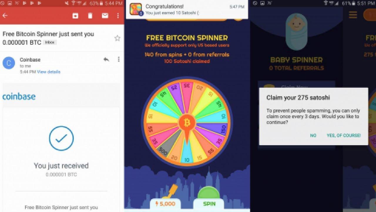 Bitcoin Spinner