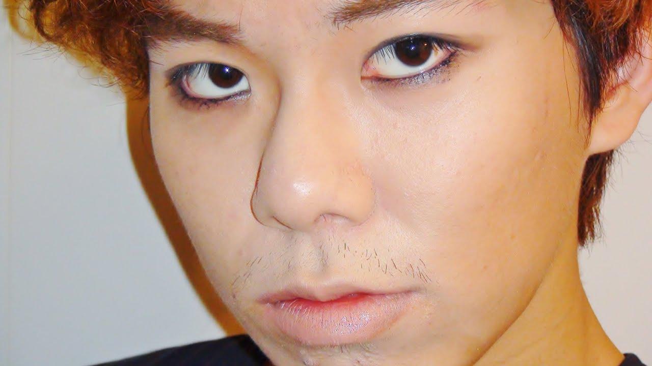 kpop male eyeliner tutorial